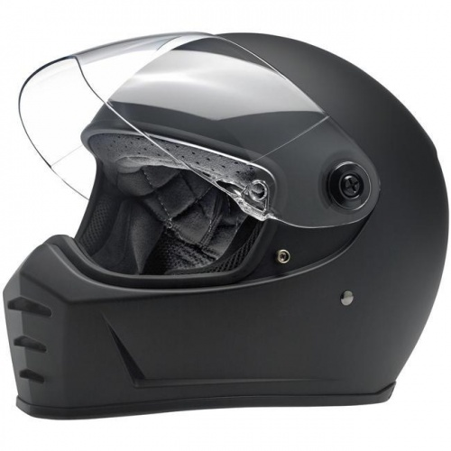 Biltwell Lane Splitter Helmet ECE - Matt Black