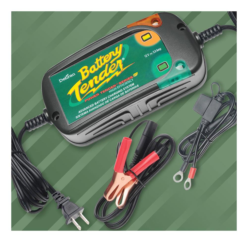 Motorcycle Battery Tender Power Tender Plus 5A Battery Charger