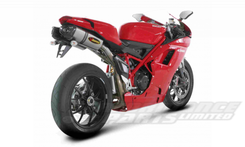 Ducati 848 08-13 / 1098 08-13 Akrapovic Hexagonal Race Exhausts