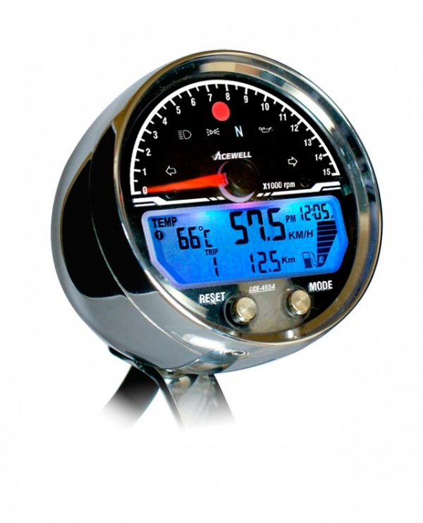 Acewell ACE-4654CP 15000RPM Speedometer