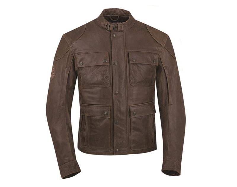 Indian Motorcycle Benjamin Men's Leather Jacket