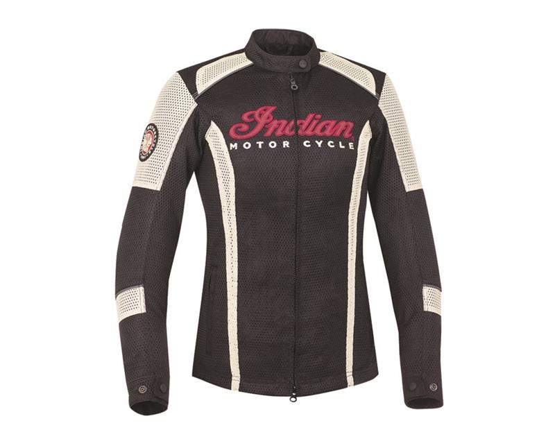 Indian Motorcycle Ladies Lightweight Mesh Jacket