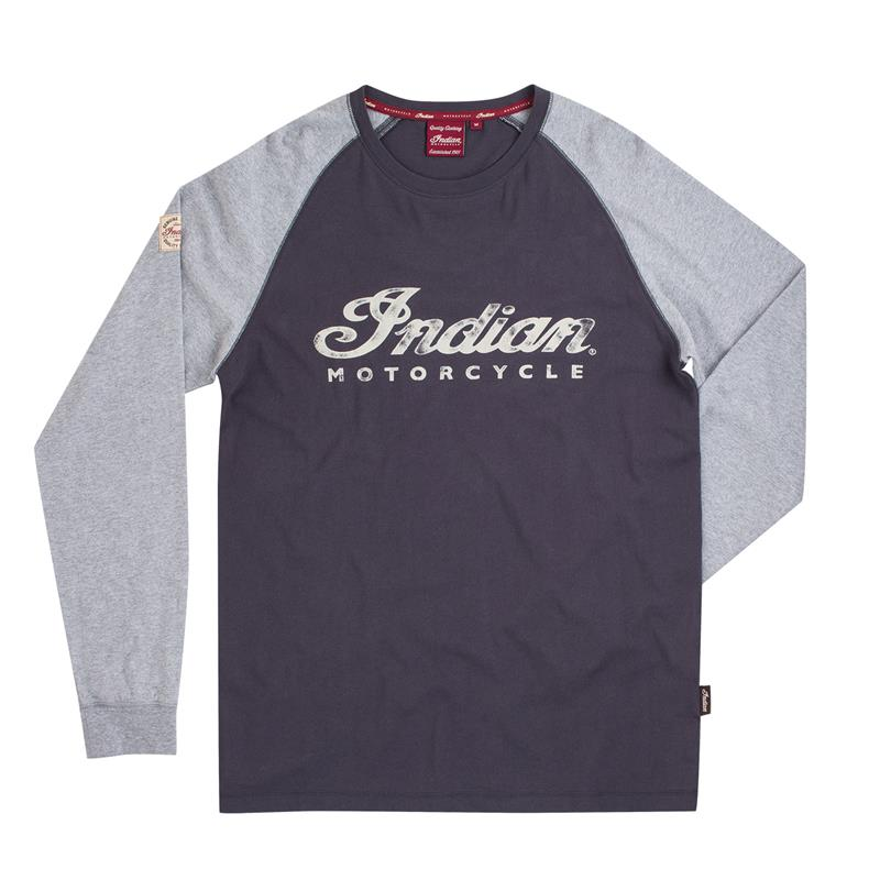 Indian Motorcycle Bomber Girl Pride Long Sleeve T-Shirt