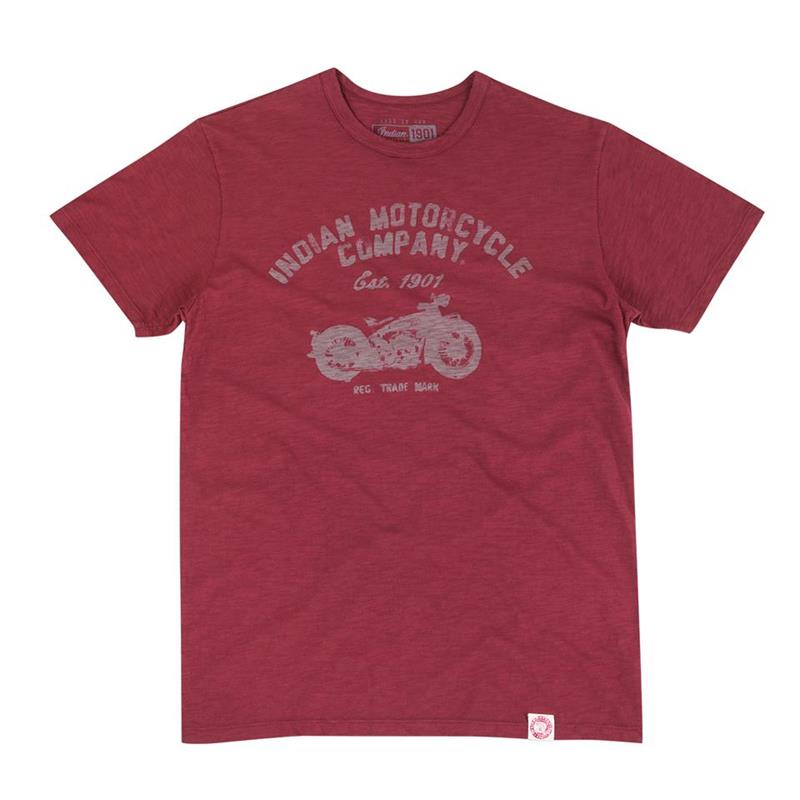 Indian Motorcycle 1901 Port Short Sleeve Bike T-Shirt