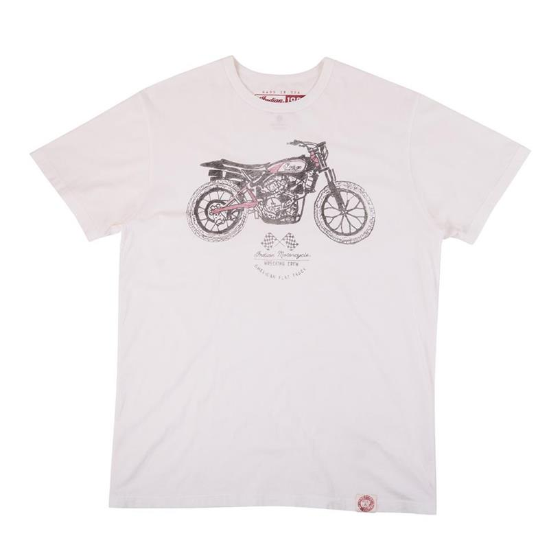 Indian Motorcycle 1901 Flat Track Short Sleeve T-Shirt