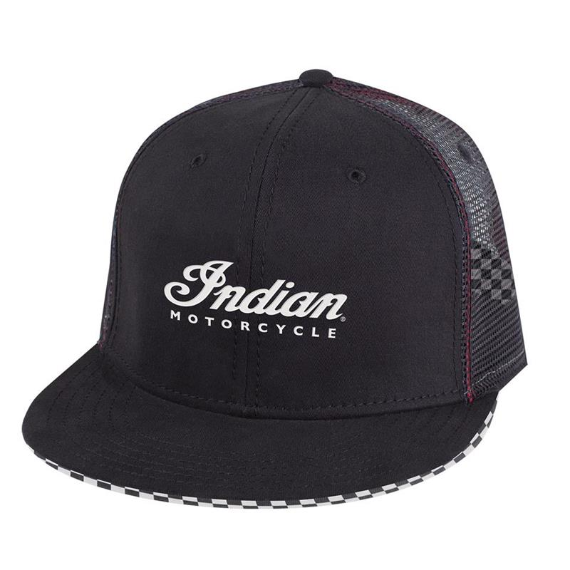 Indian Motorcycle Checkered Hat