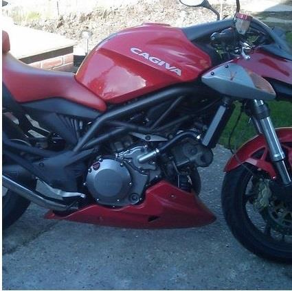 Cagiva Raptor 650 V-Twin Bellypan