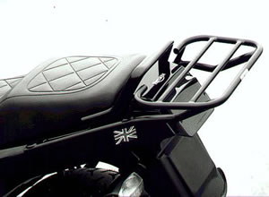 Triumph Trident (one piece grab rail) Renntec Sport / Carrier Rack in Black
