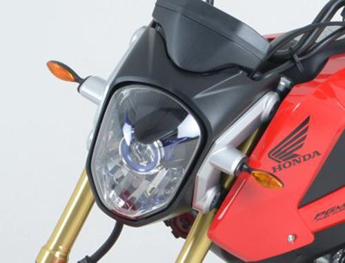 Front Indicator Adaptors for Honda MSX125 (Grom), CBR500R, CB500F '13-, CB500X - for use with with Micro Indicators