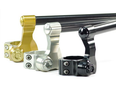 Ducati 1199 Panigale S + Tricolor models only 2012 - 2014 Gilles Variobars and Risers