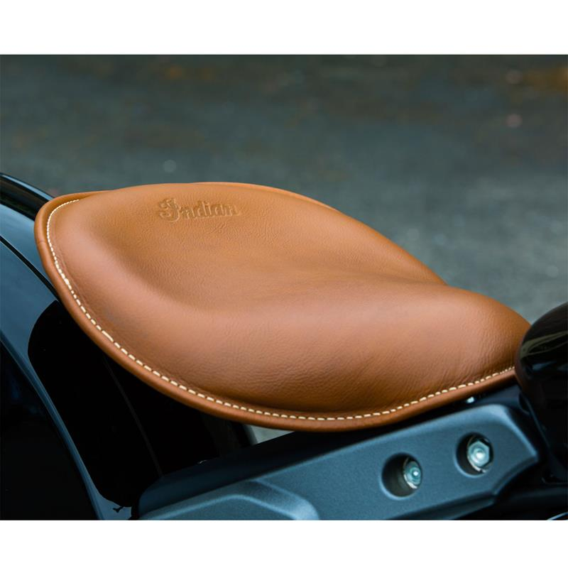 Indian Scout Bobber 1920 Solo Saddle Seat Close Off Plate