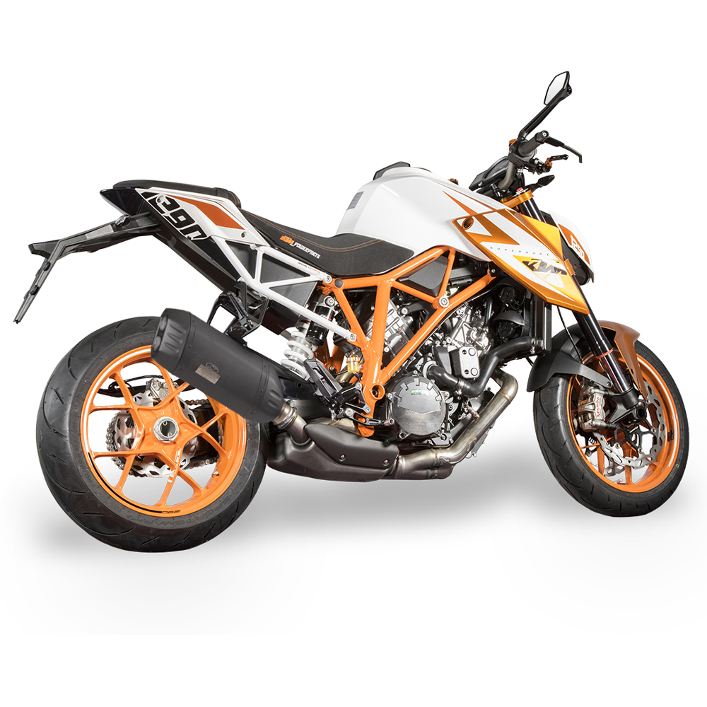 Jekill and Hyde Exhaust with Electronically Adjustable Noise Valve for KTM 1290 Super Duke R Special Edition 2016