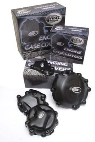 Ducati 848 Streetfighter, Engine Case Covers, pair