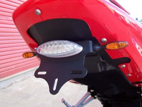 Licence Plate Holder, Hyosung GT125R/GT250R/GT650 up to '08