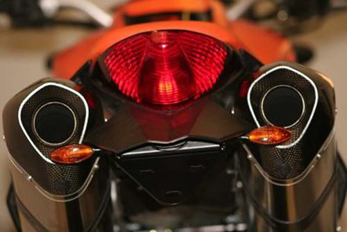 Licence Plate Holder, KTM Superduke 990 (all years), Superduke R 2012-