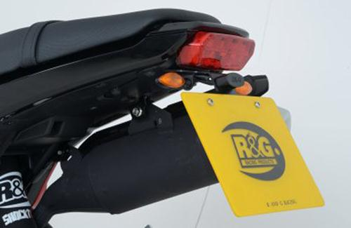 Licence Plate Holder, Honda MSX125 [Grom] (for micro indicators with M8 thread)