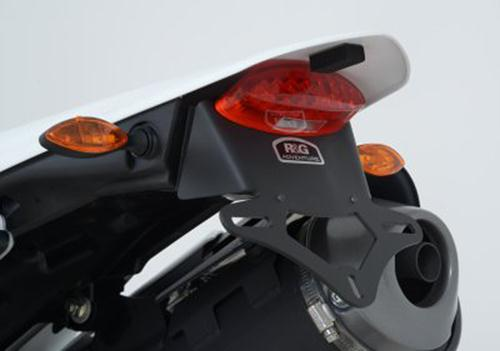 Licence Plate Holder, Honda CRF250L/M '13- (for micro indicators with M8 thread)