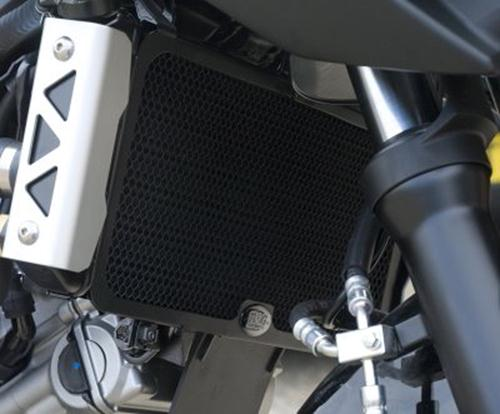Radiator Guard BLACK - Suzuki SV650 K5-
