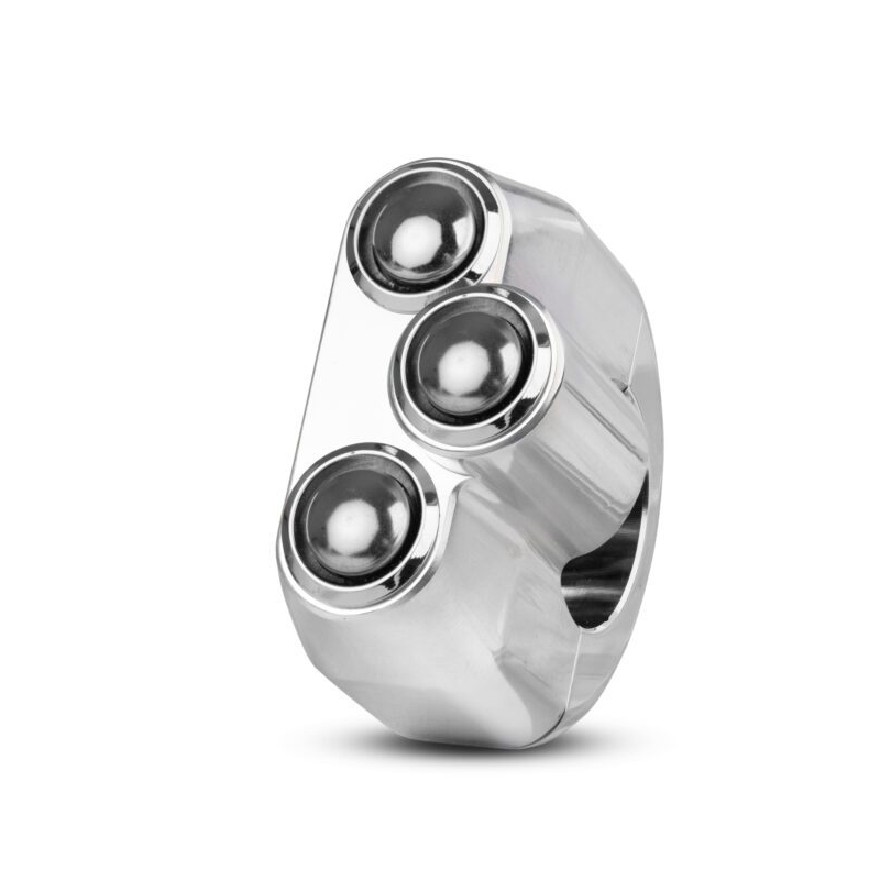 Rebelmoto 3 Button Billet Polished Handlebar Switch Gear