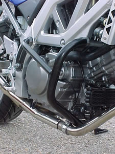 Suzuki SV650 03-04 Black Renntec Engine Crash Bars