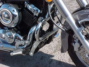 Yamaha XVS650 Dragstar / Dragstar Classic Chrome Renntec Engine Crash Bars