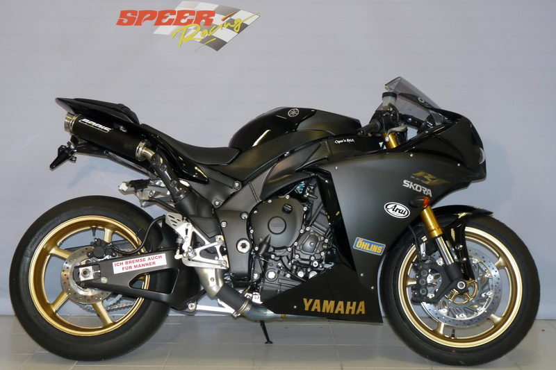Yamaha yzf r1 price in india