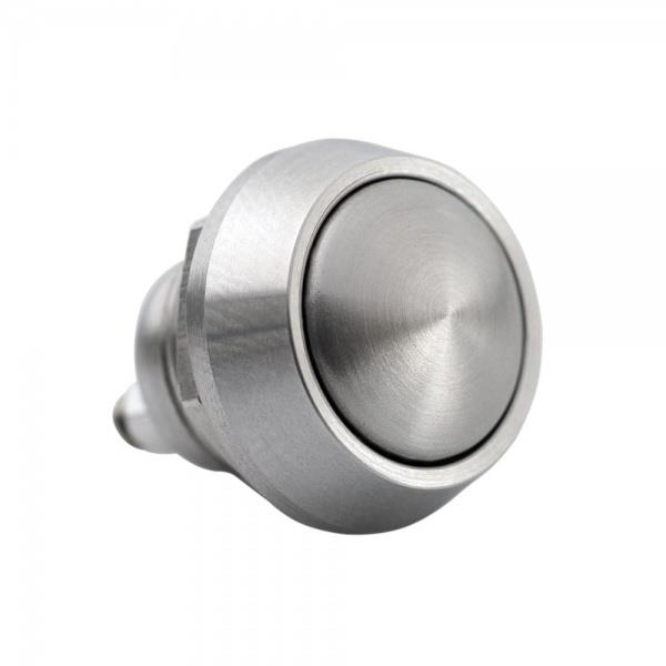 Motone Billet Stainless Micro Switch Button M12 - Momentary
