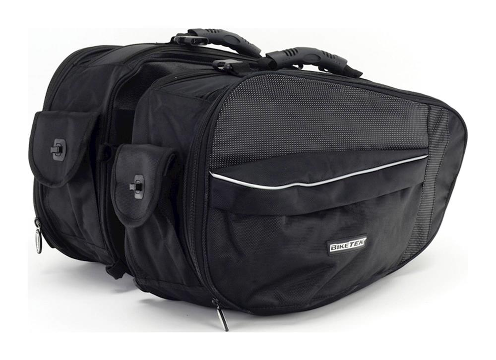 BikeTek Urbano Panniers Soft Luggage Saddle Bags