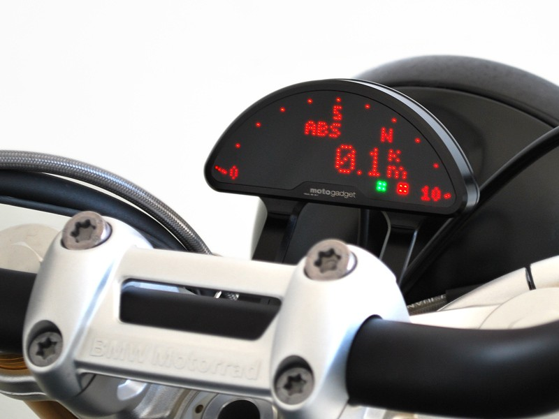 BMW R Nine T Motogadget Motoscope Pro Digital Speedo
