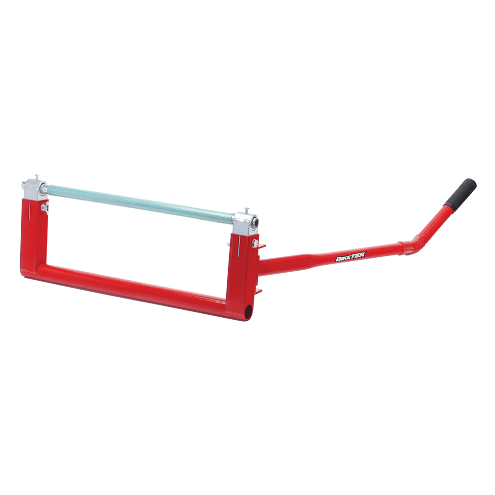 BikeTek Custom Bike Raiser Stand - Red