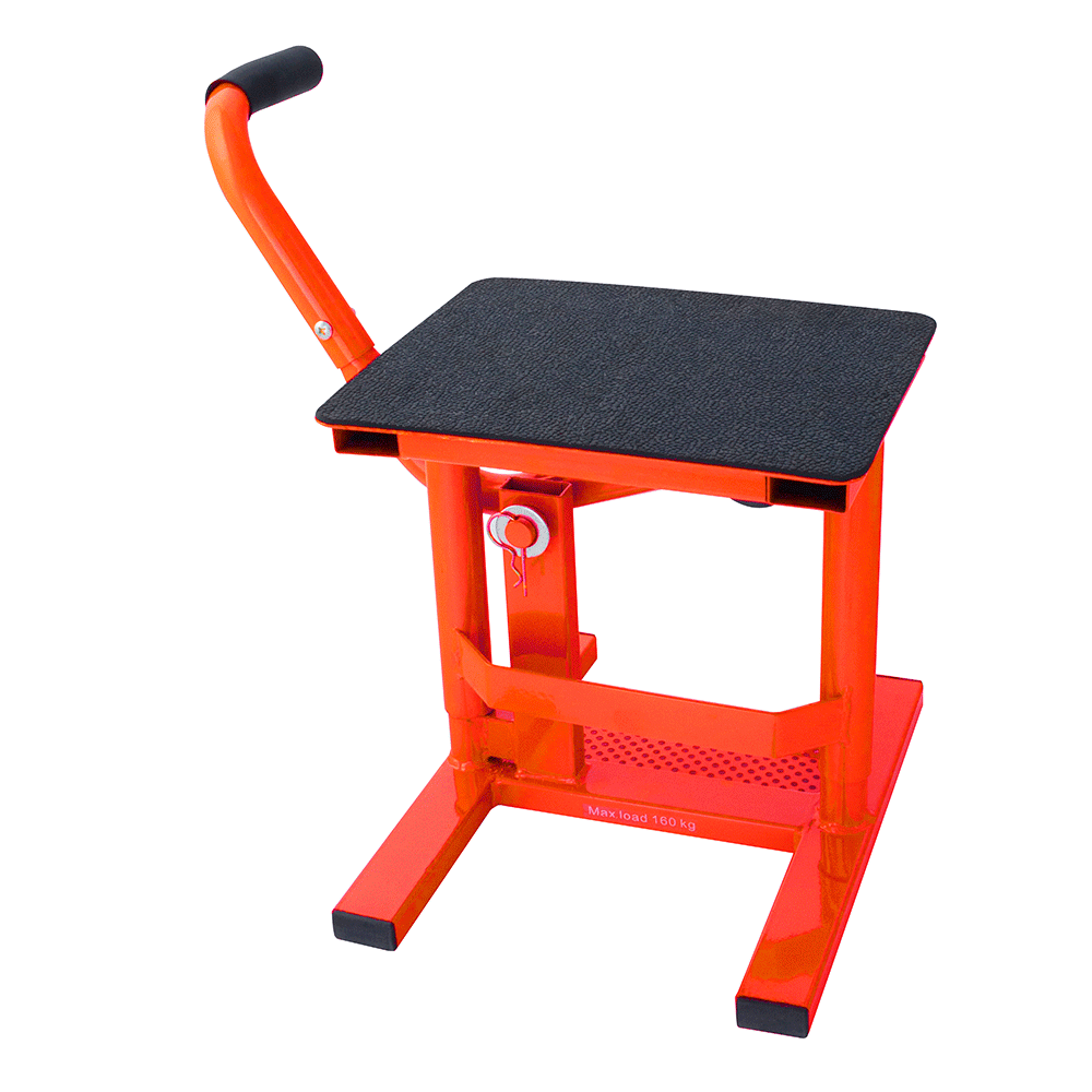 BikeTek Heavy Duty MX Comp Stand Red
