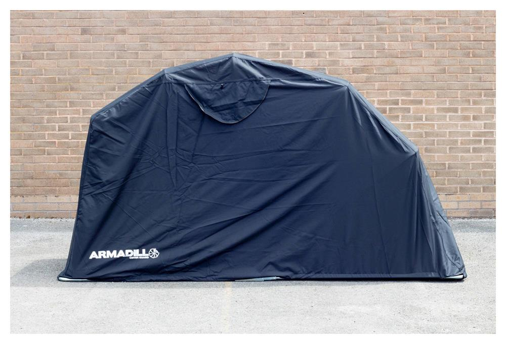 Armadillo Motorcycle Garage Shelter - Small (270cm X 105cm X 155cm)