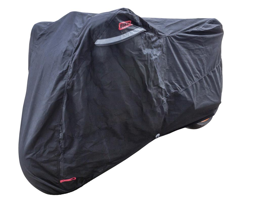 Bike It Indoor Motorcycle Dust Cover - Black - Large Fits 750-1000cc