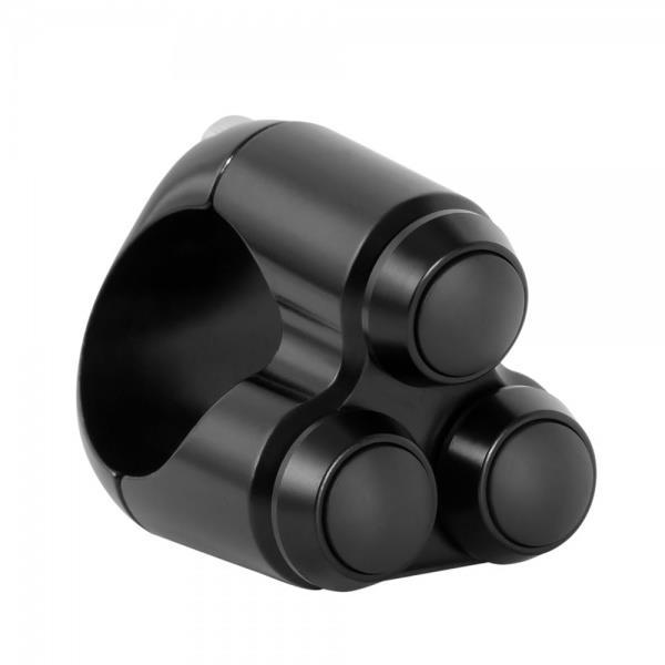 Triple Micro Switch Button Housing Mm Handlebar Black P Zoom