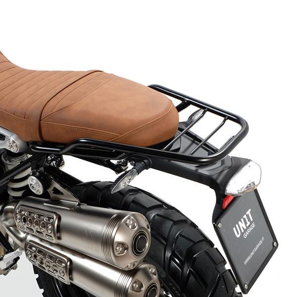Unit Garage Rear Luggage Rack With Passenger Grip For BMW