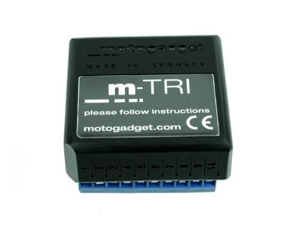 Motogadget m-Tri Signal Adaptor for Triumph CAN-bus Models
