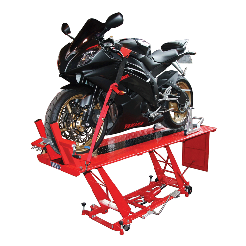 BikeTek Motorcycle Hydraulic Table Lift Bench
