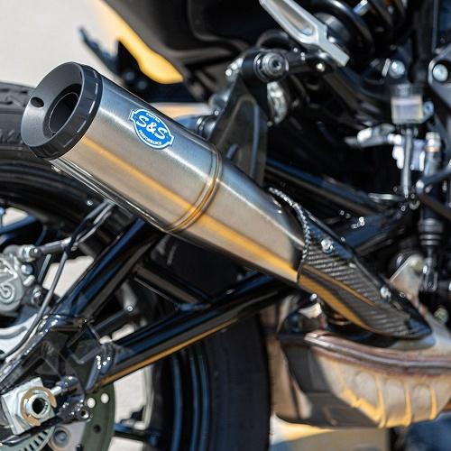 Indian FTR1200 S&S Cycle Grand National Stainless Steel Slip-On Exhaust