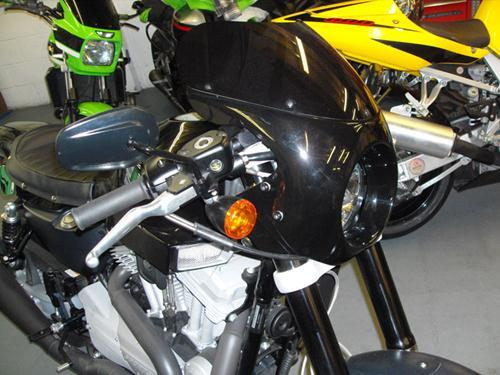 XR1200  FAIRING AND SCREEN